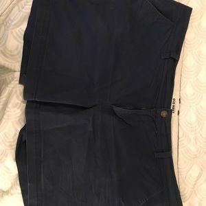 Size 16 shorts Navy